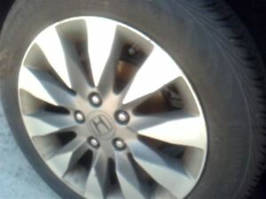 Wheel 16x6 1 2 Alloy 10 Spoke Alcoa Manufacturer Fits 09 11 Civic 12648807
