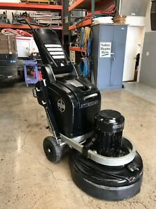 Htc 800 Hdx Concrete Floor Grinder Polisher Excellent Condition Low Hours