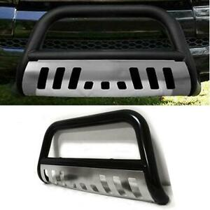 Steel Bull Bar Push Bumper Guard For 1999 2006 Toyota Tundra 2001 2007 Sequoia