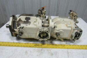Rexroth Aa10vs0 Variable Axial Piston Double Hydraulic Pump Stack
