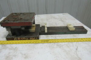 Punch Press Die Set shoe 2 Back Post 10 w X 10 fb W 22 tail 4 1 2 Open