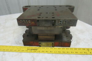 Punch Press Die Set shoe 2 Back Post 12 3 8 w X 13 fb 10 Throat 4 Open