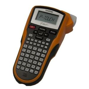 P touch Label Maker Compact Print 2 Lines On One Label Time And Date Automatic