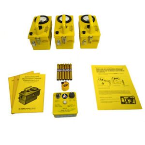 Victoreen Cd V 777 Radiation Detection Set W 3 Meters 6 Dosimeters
