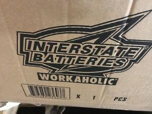 Interstate Batteries Workaholic Marine Agm 1420amp Cranking Power group 4d