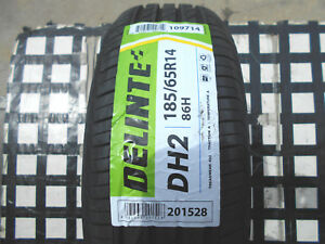 4 Never Used Tires 185 65 14 Delinte Dh2 All weather M s 185 65r14 50k Rated