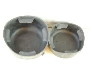 Chevy Trailblazer Gmc Envoy 2 Pc Cup Holder Insert Set 02 07 1843