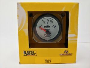 Auto Meter 7513 Phantom Ii 2 1 16 Fuel Level Gas Gauge 65 97 Gm Chevy 0e 90f