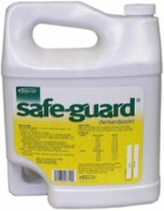 Safe guard Oral Drench Wormer Cattle Goats Gallon Dewormer