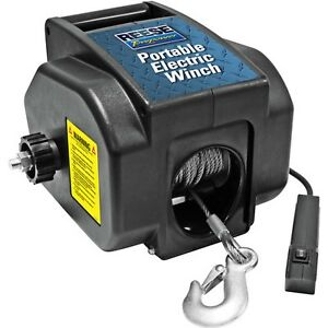 Reese Towpower Portable Electric Winch Black 29 Best Quality Fast Shipping