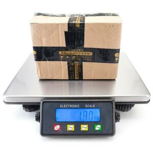 Parcel Scales Postal Shipping Heavy Duty Digital Weighing Platform Lcd 440lb