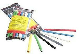 Heat Shrink Tubing Kit Po 35 Pieces Multi Colors Nwk Pn Fp 301 3 32 assort