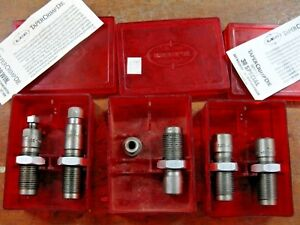 Lee taper crimp die sets - 308 Win. & 38 Special