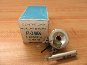 Central Lab F1 3meg Potentiometer F13meg
