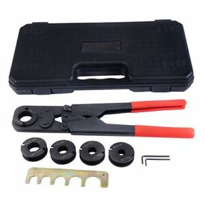 5 In1 Pex Crimper Kit Copper Ring Crimping Plumbing Tool 3 8 1 2 5 8 3 4 1