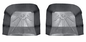 1978 88 El Camino Malibu Regal Cutlass Monte Carlo Rear Floor Pans Pair