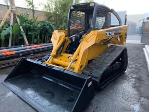 2008 Deere Ct332 Skid Steer Compact Track Loader Only 1934 Hours