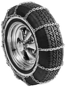 Square Link Tire Chains 195 75r15 Passenger Vehicle Tire Chains