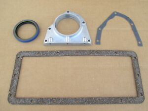 Rear Engine Retainer Cover Kit For Ih International Cub Tractors C60 Engine