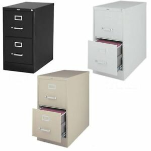 Hirsh 2 drawer Letter size Commercial Vertical File Cabinet