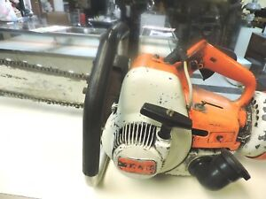 Used Stihl Ts350 Chainsaw Concrete Saw Runs Strong