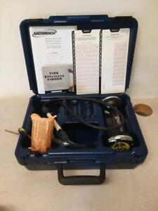 Bacharach 10 5000 Fyrite Co2 Combustion Gas Analyzer Test Kit A
