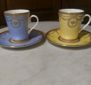 The Royal Trust Collection Vintage Antique Rare Gold Blue Yellow