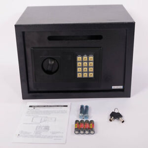 Universial Digital Lock Keypad Safe Box Home Security Gun Cash Jewel Black New