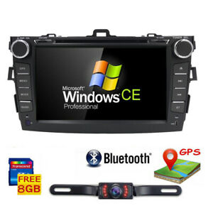 For Toyota Corolla 2007 2008 2009 2010 2011 Car Radio Dvd Gps Stereo Player Cam