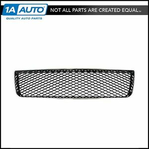 Front Center Lower Bumper Mounted Black Chrome Grille For Chevy Impala New