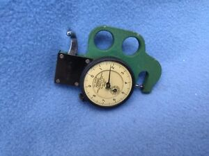 Federal Thickness Gage Model 22p 5 Resolution 0001 With Revolution Counter