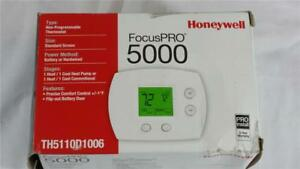 New Honeywell Focuspro 5000 Thermostat Non programable Th5110d1006