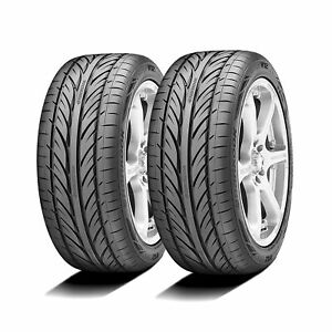 2 New Hankook Ventus V12 Evo 205 45r17 84v Performance Tires 2015