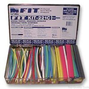 Heat Shrink Tubing Kit Fit 221 119 152 4mm Long Pieces In Various Sizes And Co