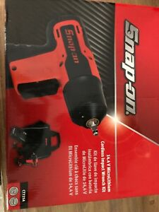 New Snap On Ct725a 14 4 V 1 4 Drive Microlithium Cordless Impact Wrench Kit