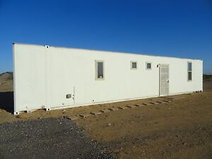 Custom Build 48 Ft Aluminum Container Home Self Contained Bedroom Bathroom More