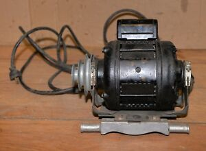 Delco 1 3 Hp 1725 Rpm Vintage Lathe Drill Press Table Saw Motor Collectible Tool