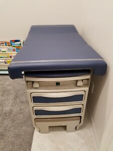 Midmark Ritter 204 Manual Exam Table Dark Blue Excellent Condition No Use