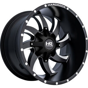 20x12 Black Hardrock Devious 6x135 6x5 5 44 Wheels Open Country Mt 35 Tires