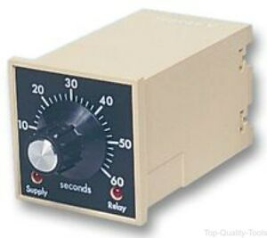 Analogue Timer F Series On delay 16 Ranges 1 S 60 H 2 Changeover Relays
