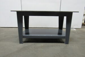 H d 5 8 Thick Top Steel Fabrication Layout Welding Table Work Bench 60 X 36