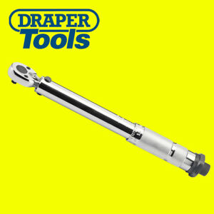 Draper 78639 Torque Wrench 1 4 Square Drive With Micrometer Case 5 25nm