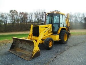 John Deere 310d Tractor Loader Backhoe 4x4 Cab Ext Hoe Only 6069 Hours