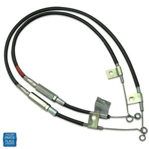1970 1976 Firebird transam Heater Control Cables Without A c 2pc Set