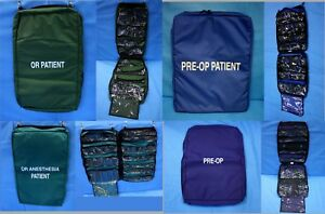 Iron Duck 4 Ea Medical Hanging Bags Pre op Or Anesthesia Patient U s Made Emt