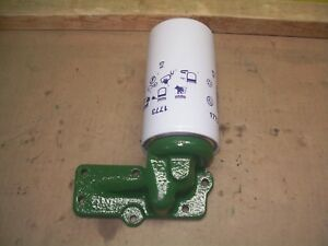 Oliver 1650 1655 1750 1755 1855 Farm Tractor Spin On Oil Filter Housing