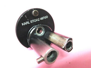 Karl Storz 487uo Turret Adaptor For Xenon Olympus Acmi Wolf Light Sources 487u0