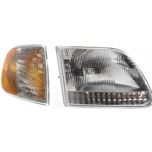 New Auto Light Kit Passenger Right Side F150 Truck Rh Hand Ford F 150 Expedition