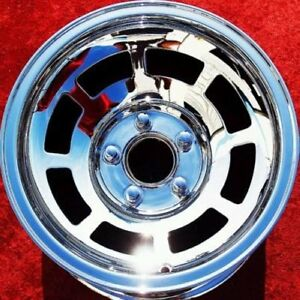 Set Of 4 New 15 Chevrolet Corvette Oem Chrome Wheels Rims Monte Carlo 1045