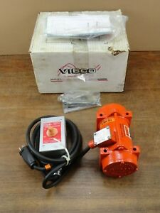 New Unused Vibco 2p 75 1 Heavy Duty Electric Vibrator 115 Volts 3600 Vpm